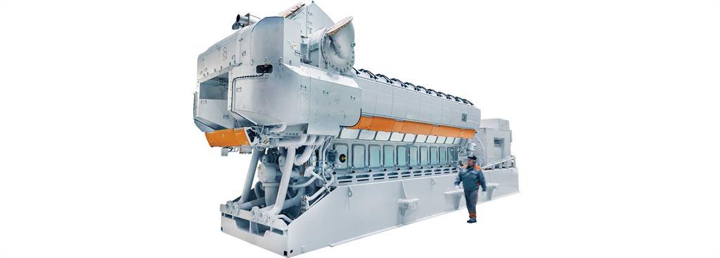 Wärtsilä 31DF Engine