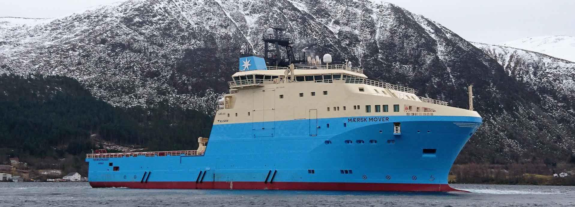 Maersk Mover offshore supply vessel