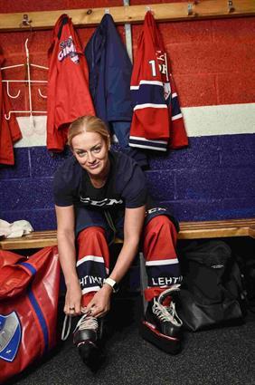 Mia Heikuri's heart beats for hockey and HIFK_3