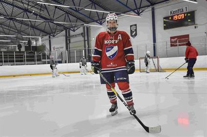 Mia Heikuri's heart beats for hockey and HIFK_6
