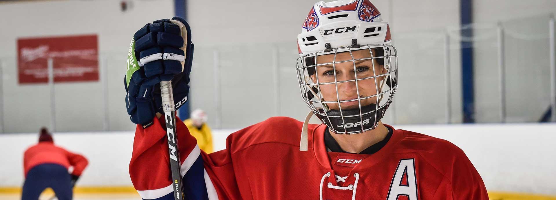 mia heikuris heart beats for hockey and hifk