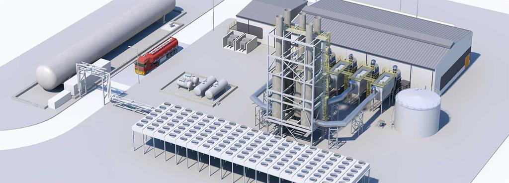 Natural gas takes the role as backup fuel