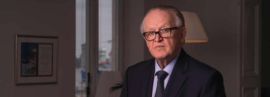 Podcast: Talking peace with Martti Ahtisaari
