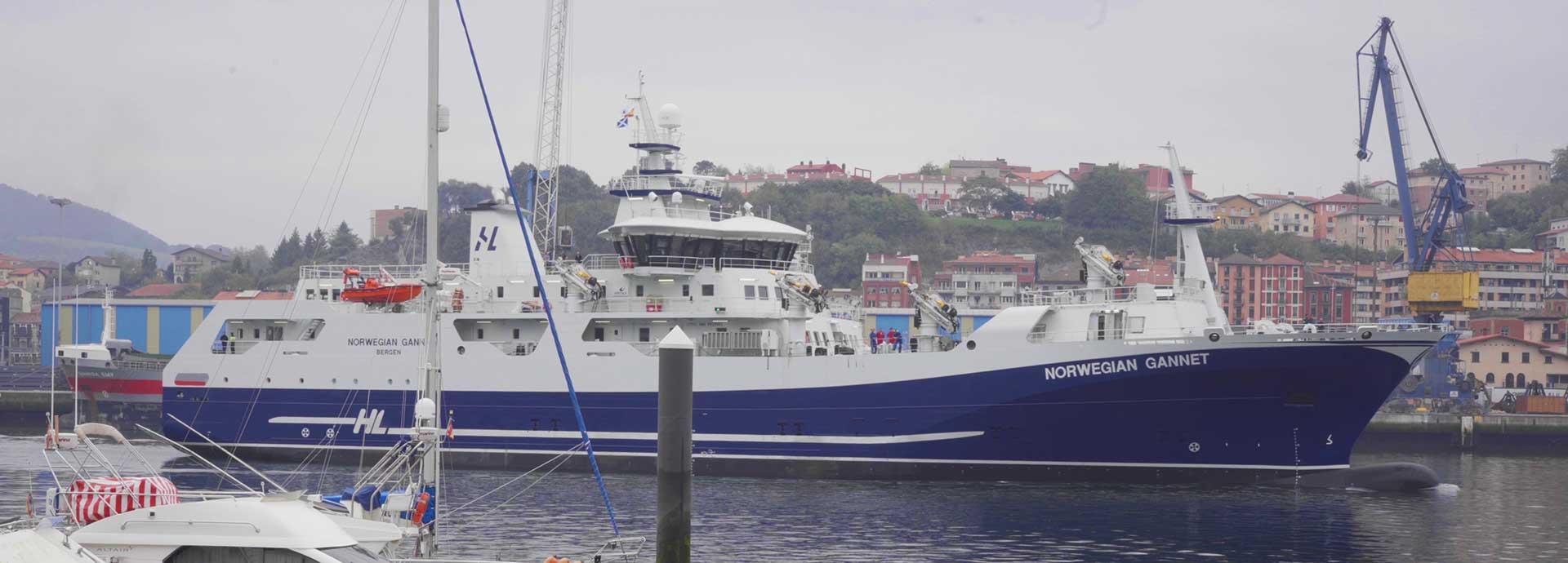 Propulsion Control on the Norwegian Gannet