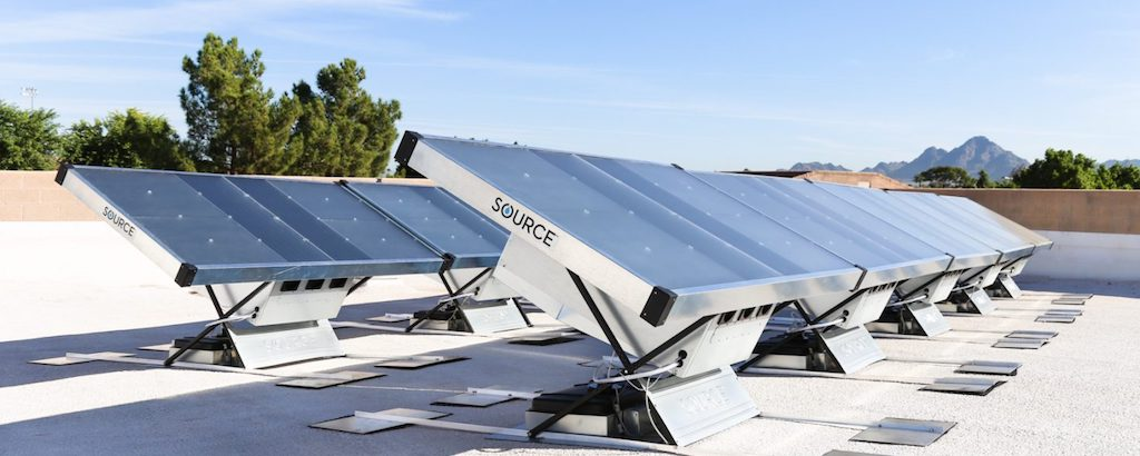 Solar panels that generate water