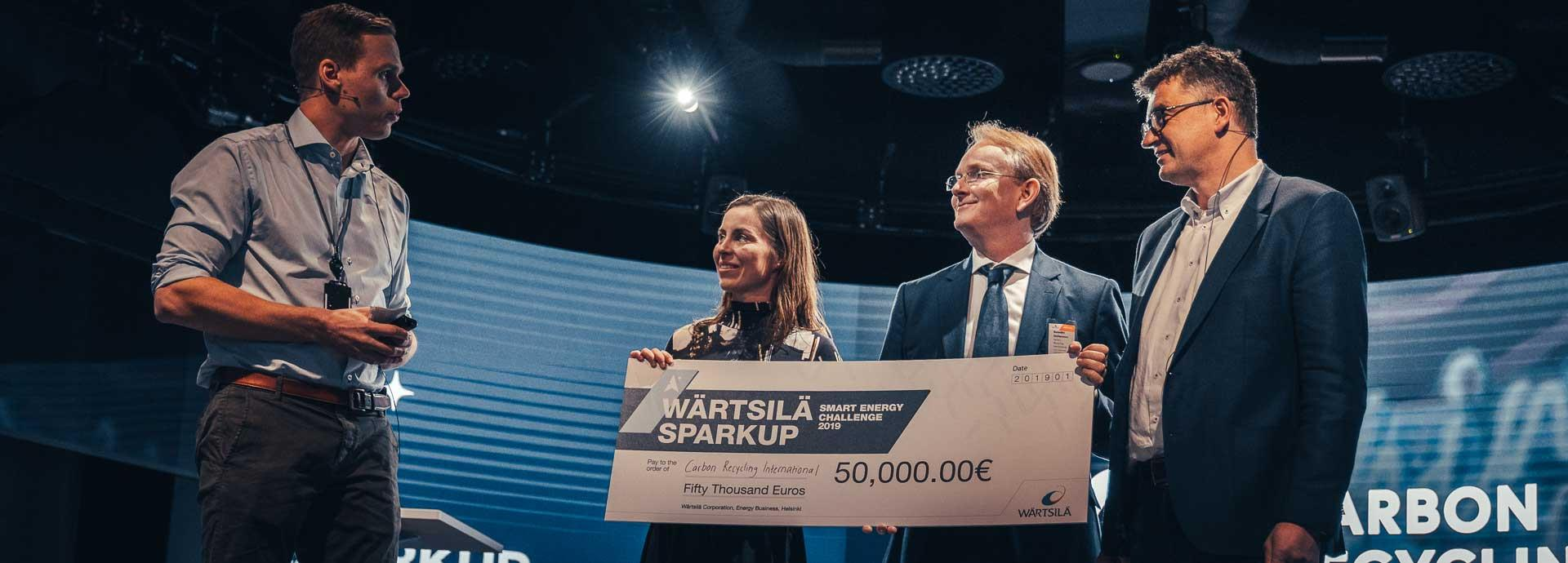 SparkUp Challenge winner, Carbon Recycling International, wants to make an impact with Power-to-X