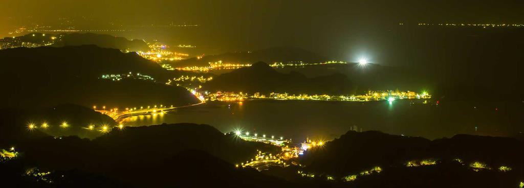 Taiwan Island without electricity