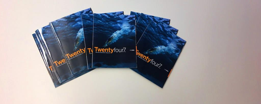 The latest Twentyfour7. magazine is out