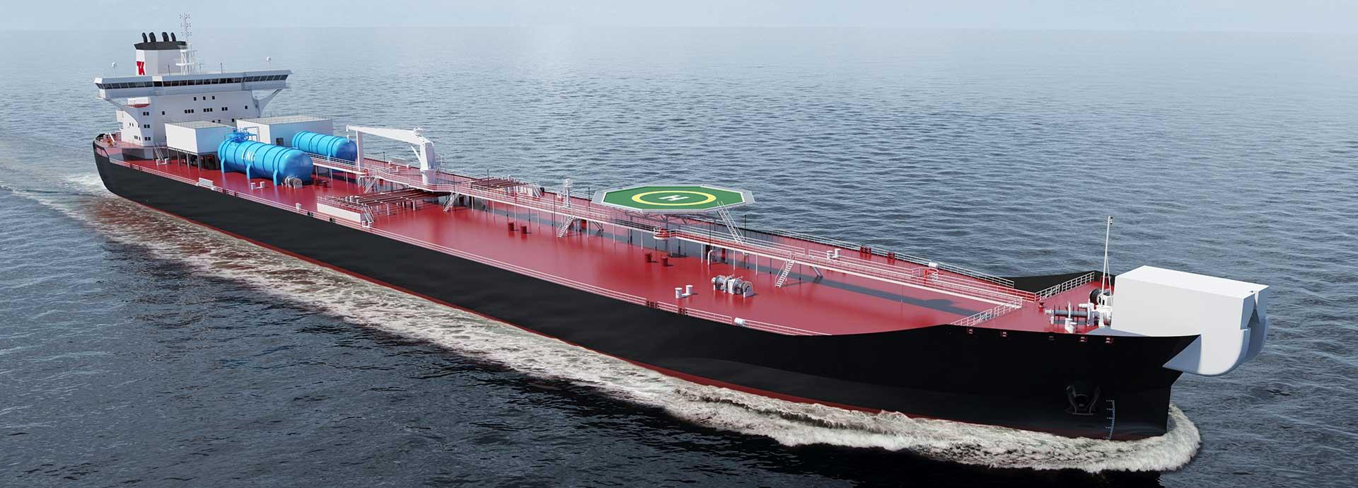 The new Shuttle Tanker