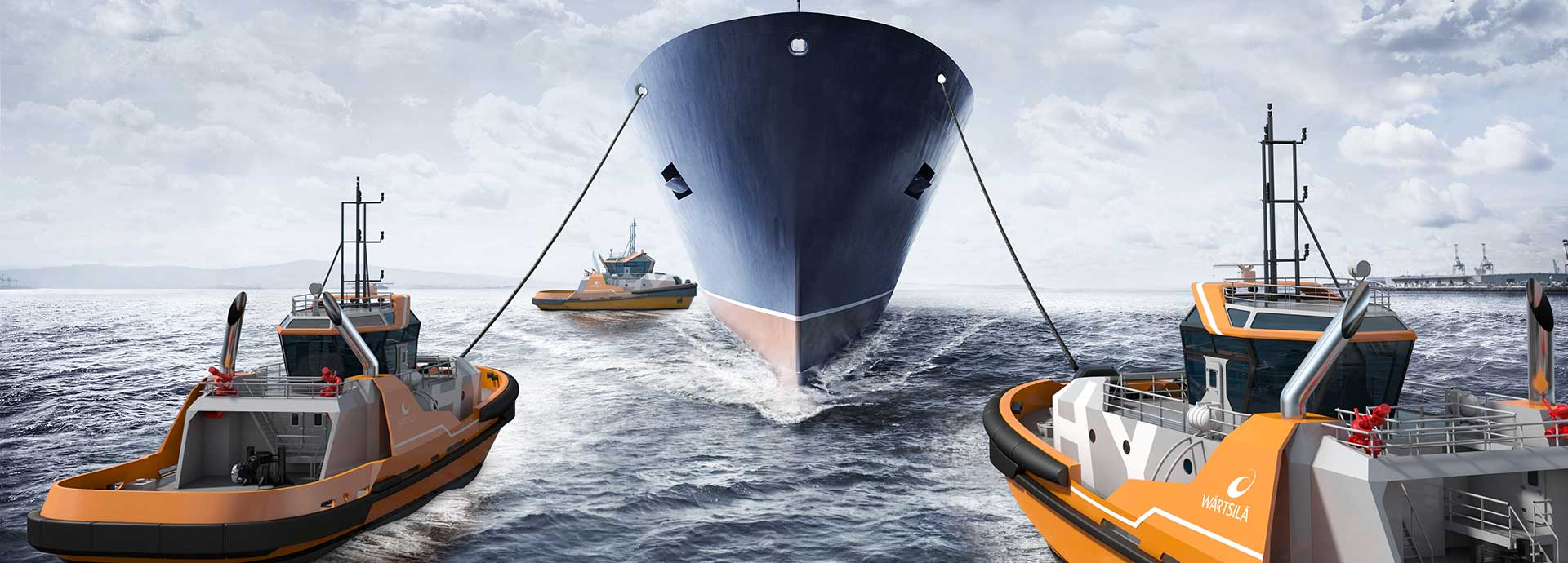 The Wartsila HY TUG system Electric hybrid designs to save costs and reduce emissions