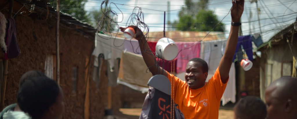 Using gravity to light up Sub-Saharan Africa