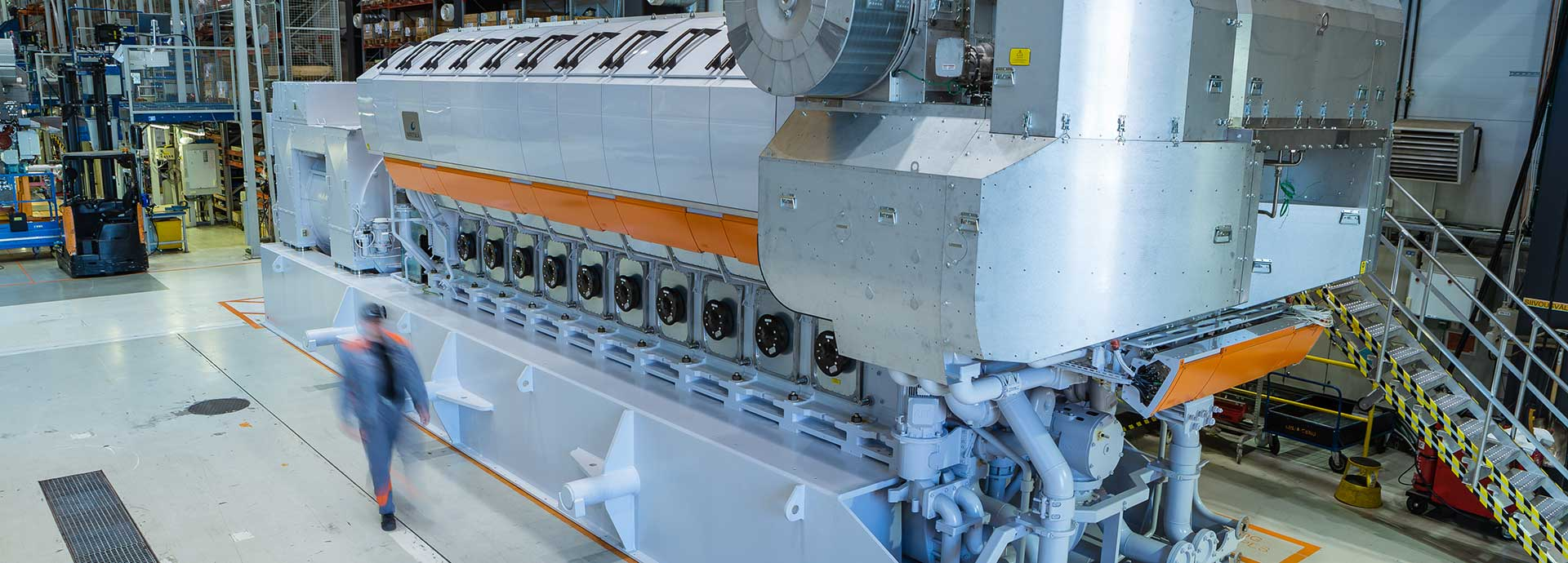 Wartsila 31SG the worlds most efficient 4stroke engine