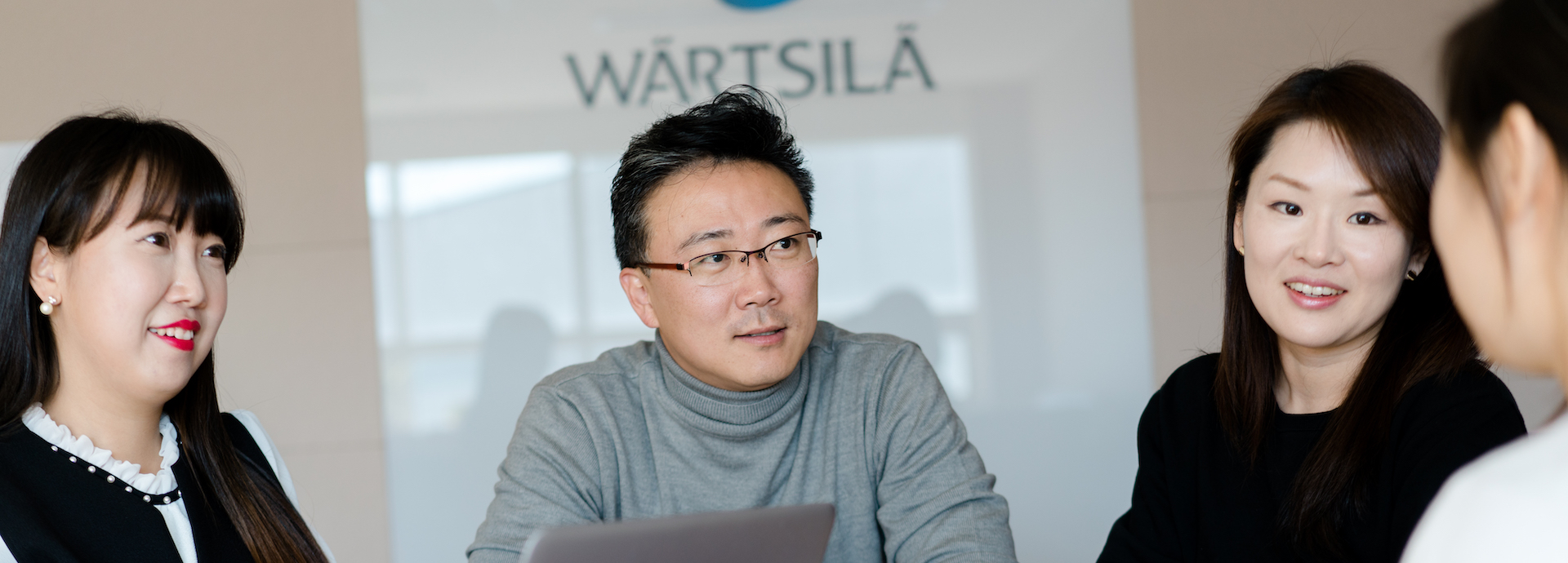 Wärtsilä Korea employees